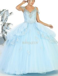 New formal ball gown,quiencenara pageant dress